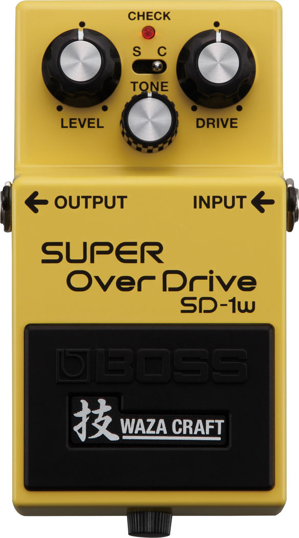 BOSS SD-1W Waza Craft Special Edition  …