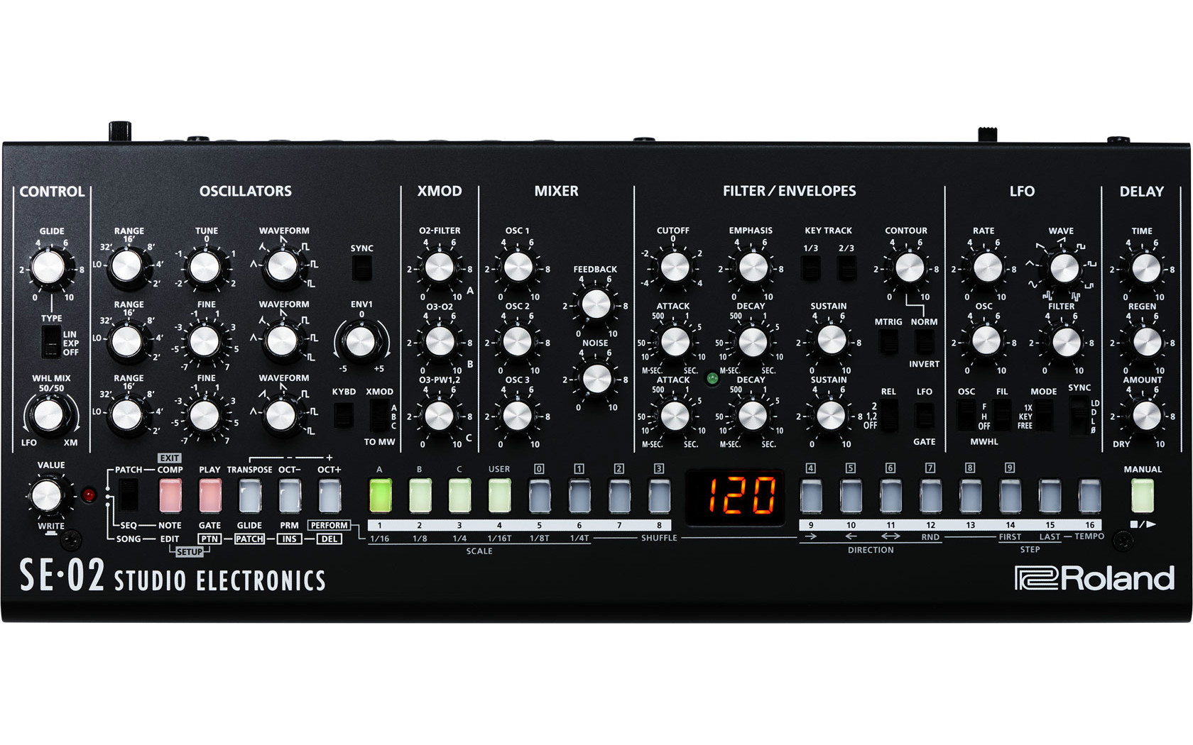 Roland SE-02 Boutique Analog Mono Synth  …