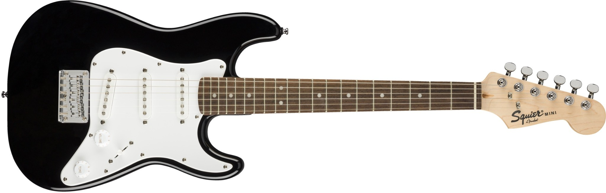 Squier Mini Strat In Black LN v2