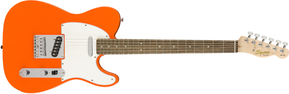 Squier Affinity Tele In Competition Orange  …