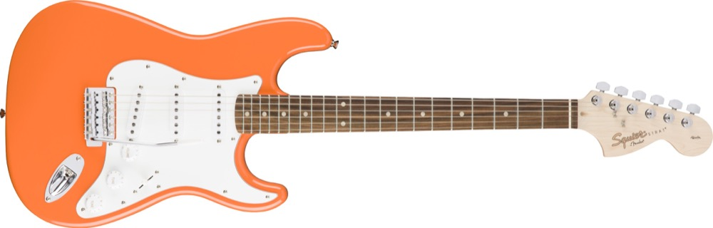 Squier Affinity Strat In Competition Orange