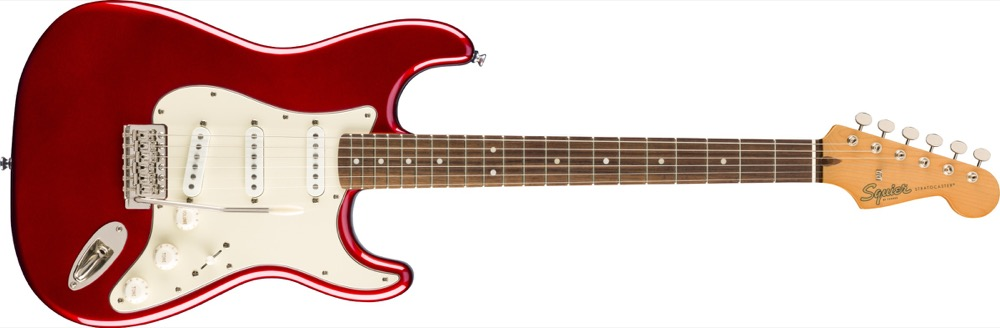 Squier Classic Vibe 60's Strat In Candy Apple Red