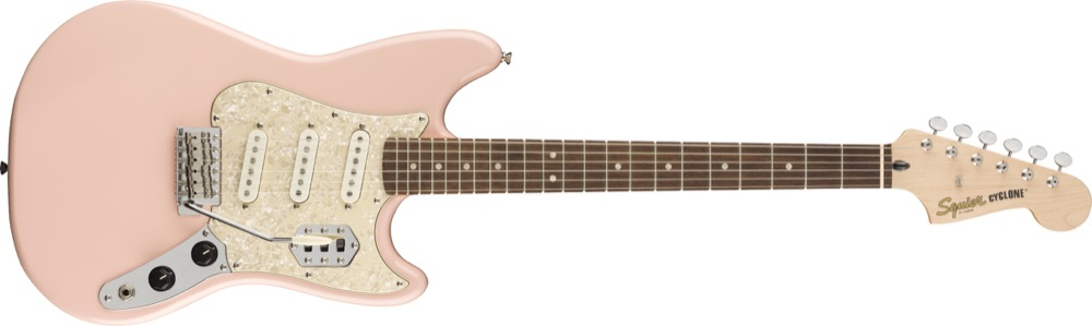 Squier Paranormal Cyclone in Shell Pink