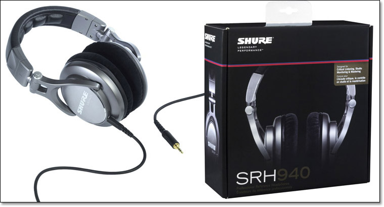 Shure SRH940 Professional Monitor  …