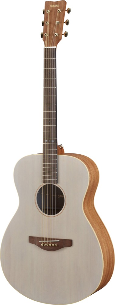 Yamaha Storia I Solid Spruce Top in Off-White
