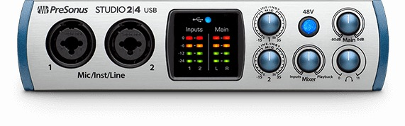 Presonus Studio 24 2 x 2 USB Audio Interface