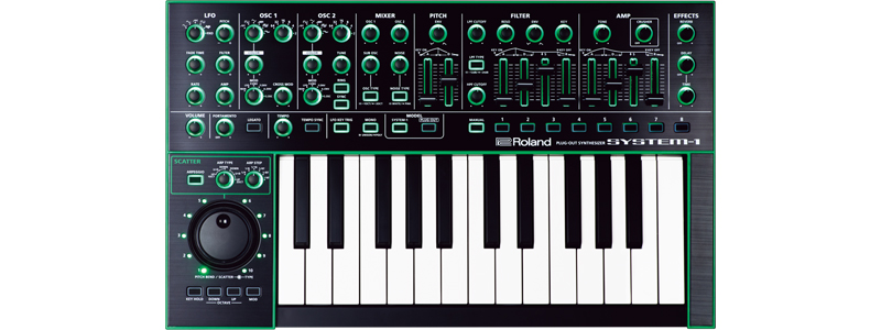 Roland AIRA System-1 Plug-Out Variable Synthesizer