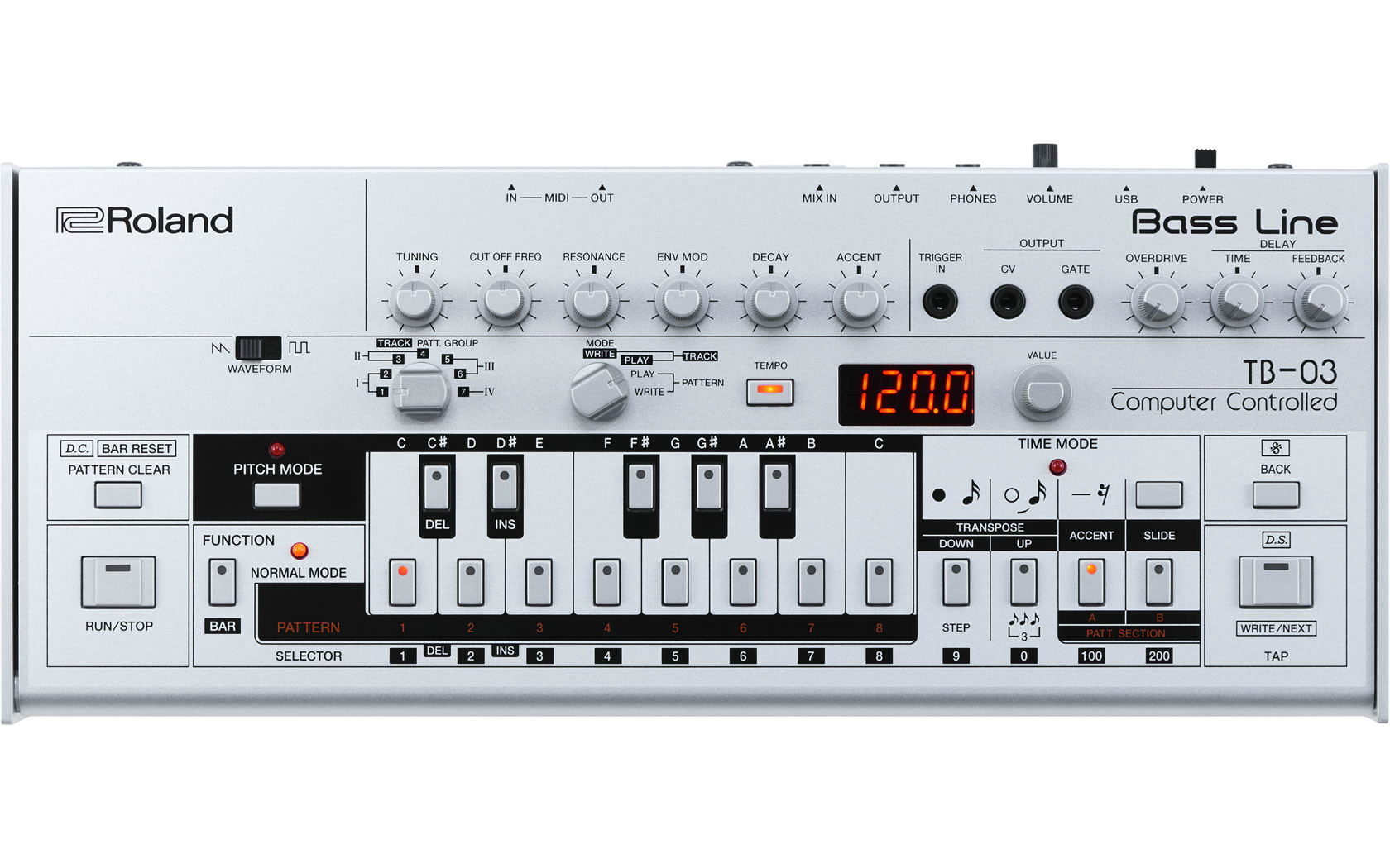 Roland TB-03 Boutique Series TB-303  …