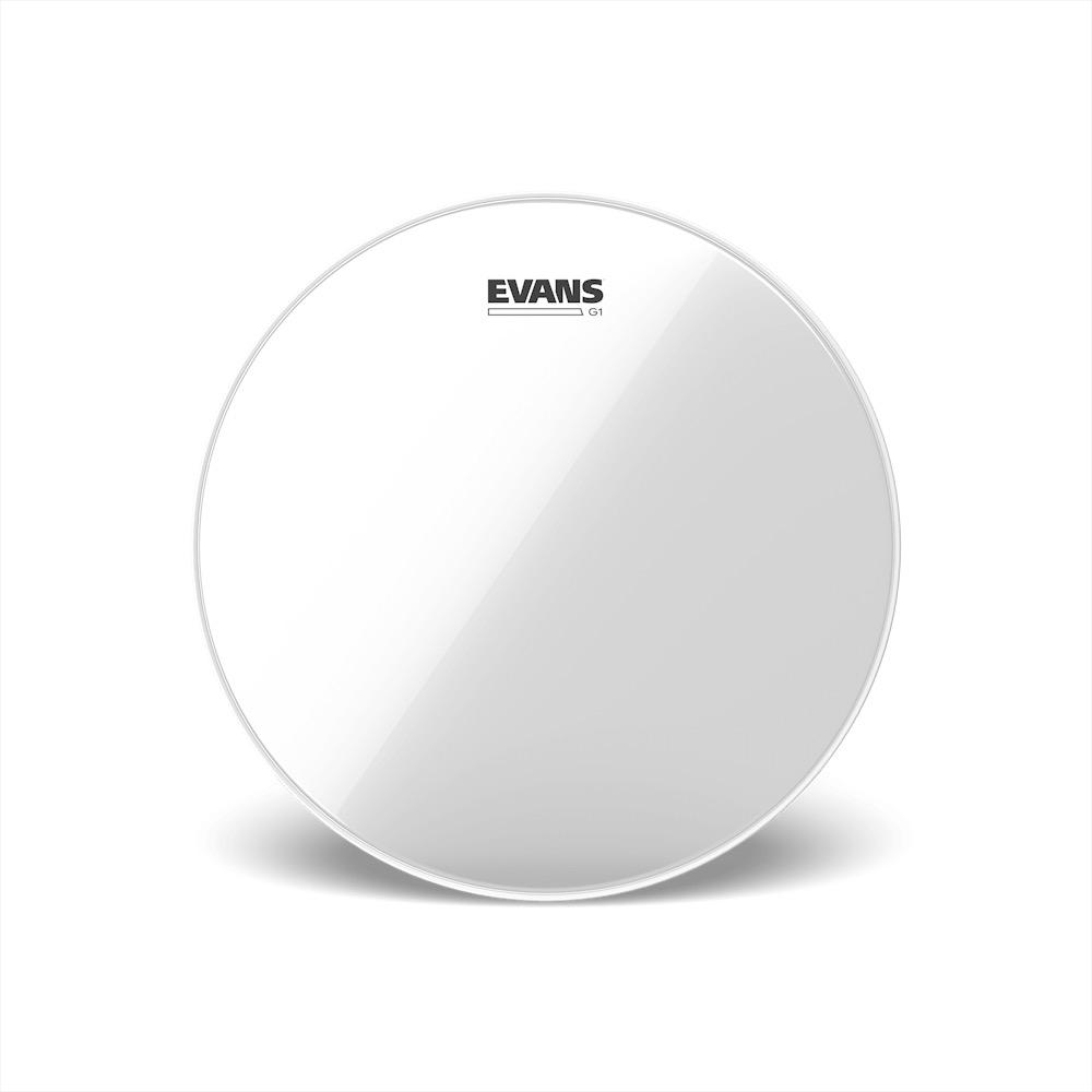 "Evans 13"" Genera G2 Clear"