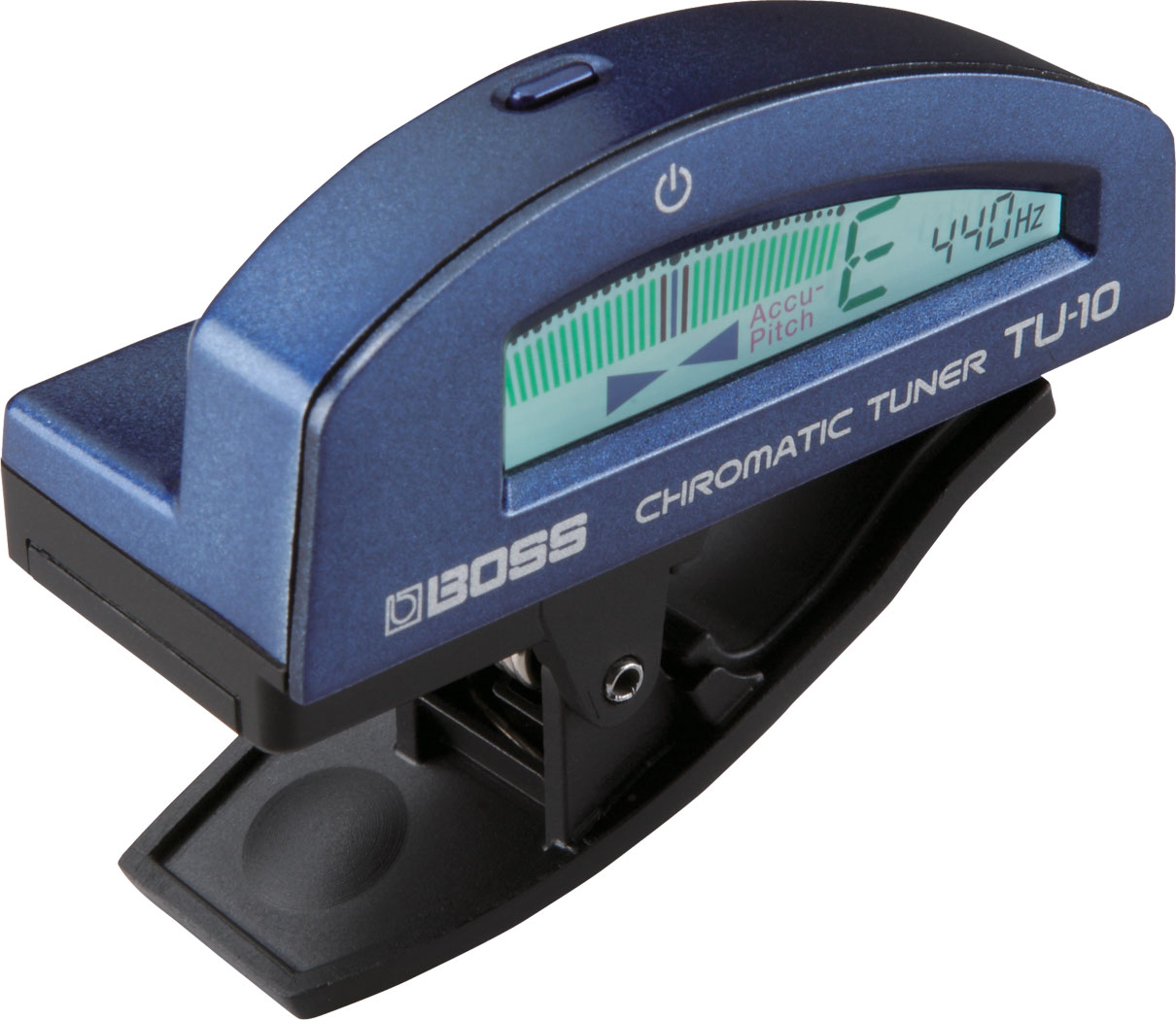 BOSS TU-10 Clip On Tuner In Blue