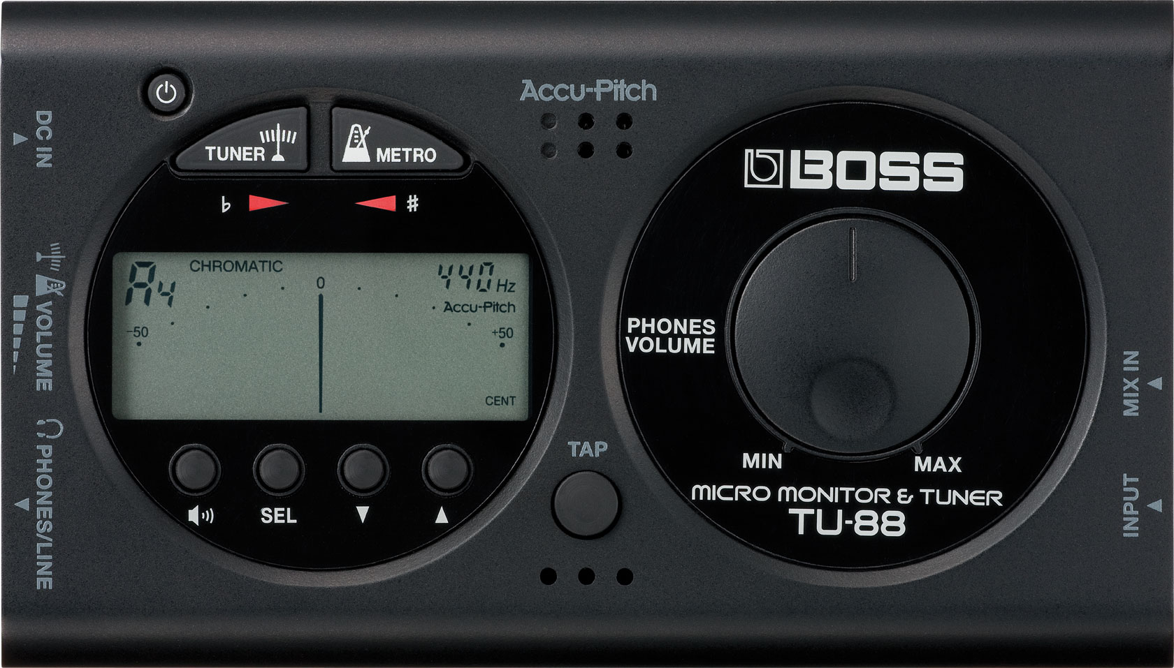 BOSS TU-88 Tuner And Micro Monitor*