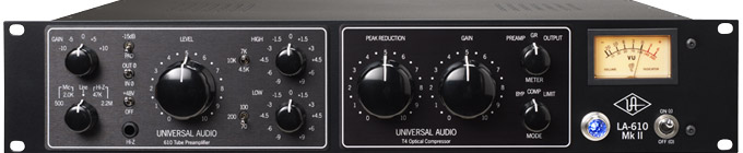 Universal Audio LA610 MK2 Preamp With Limiter