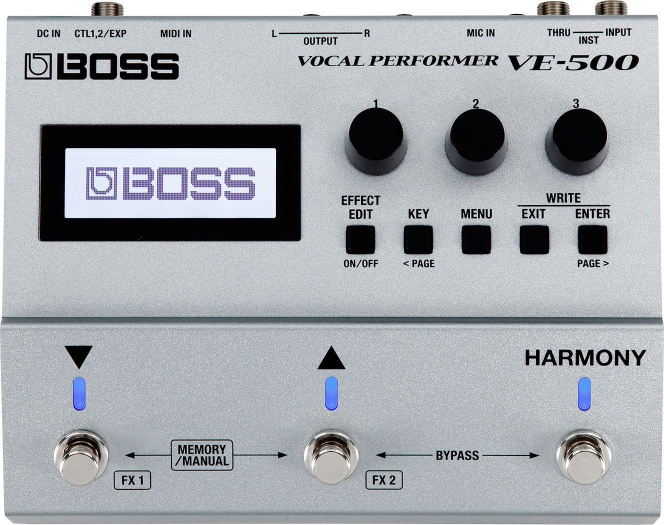 BOSS VE-500 Vocal Performer Effects