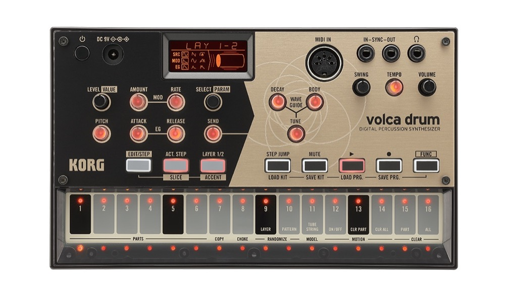 Korg Volca Drum Synthesized Drum Machine  …