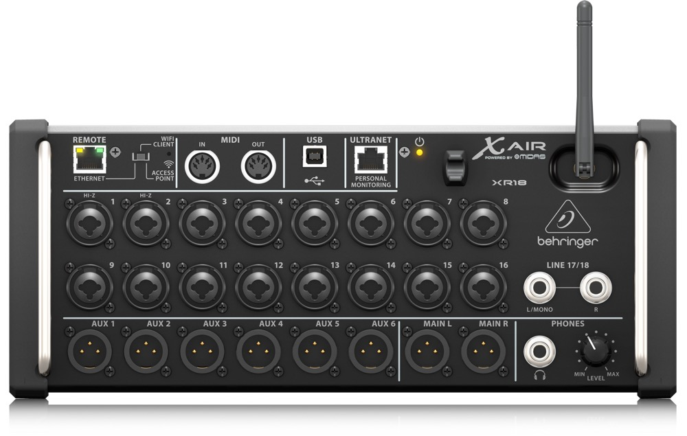 Behringer XR18 18 Channel 12 Bus Digital  …