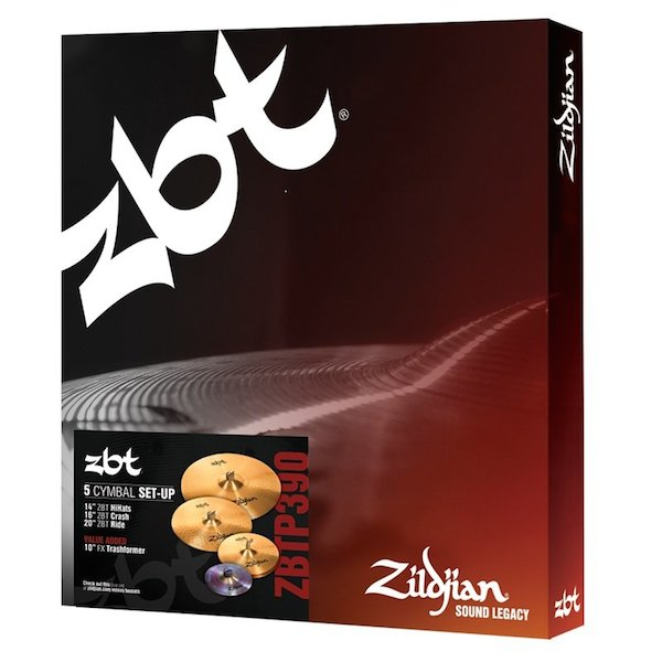 Zildjian ZBTP 390 Box Set With 5 Cymbal Setup