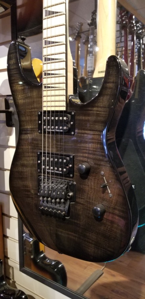USED Jackson DK2M Pro Flame Top 2006