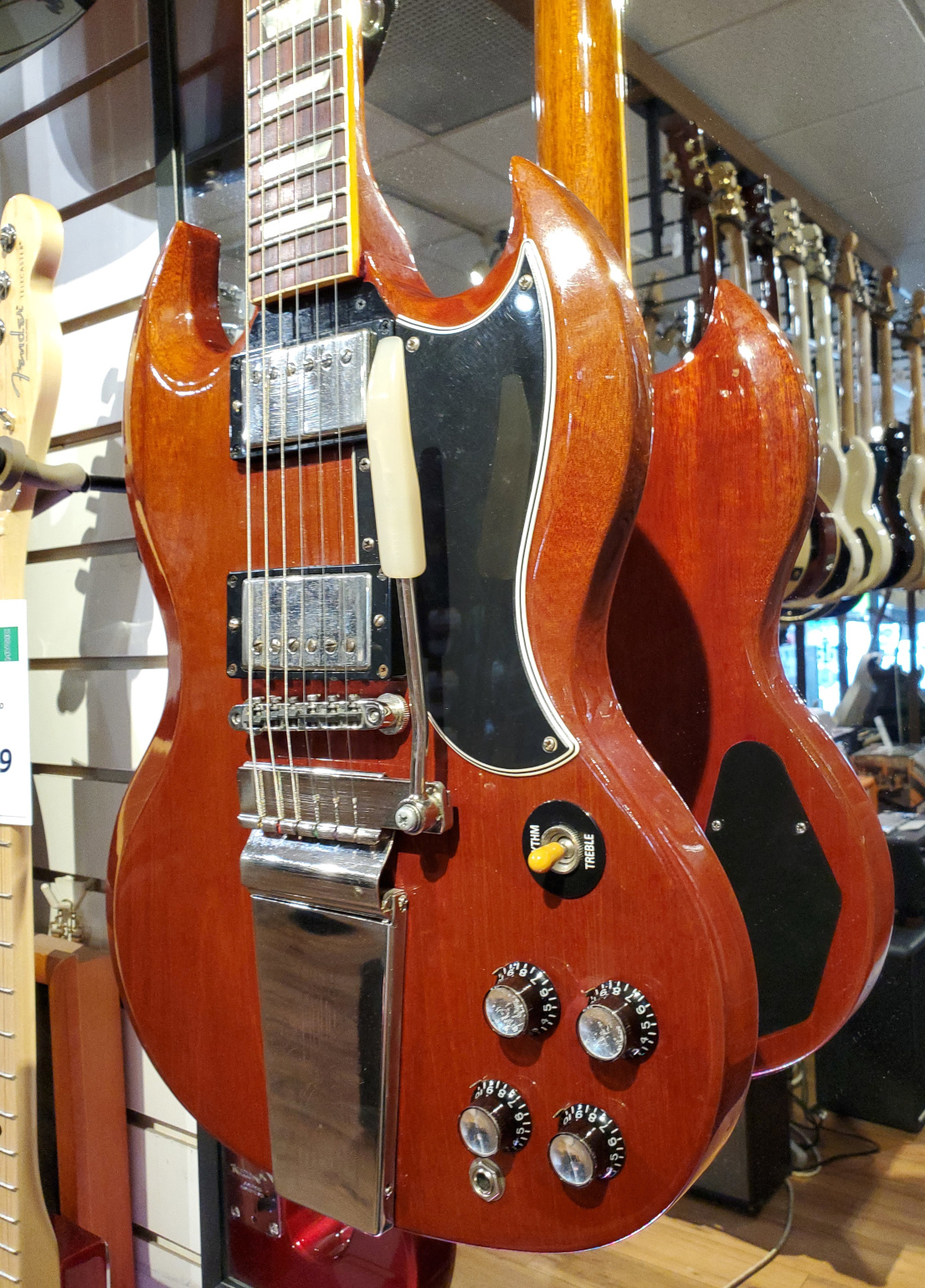 USED Gibson Custom Shop '62 SG w/Case