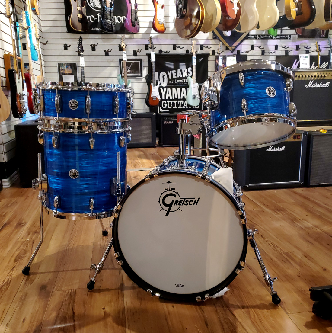 USED Gretsch Brooklyn Shell Pack In Royal  …