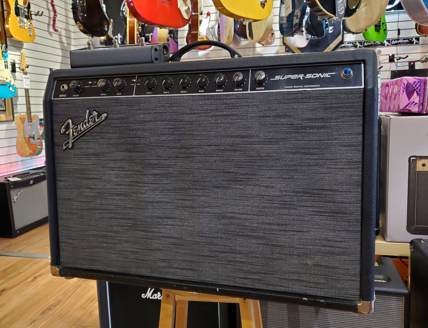 USED Fender Supersonic Tube Amp w/FSTW
